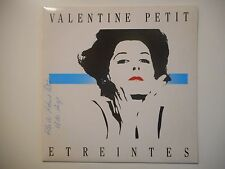 VALENTINE PETIT : ETREINTES ♦ 45 TOURS PORT GRATUIT ♦