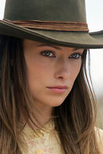 OLIVIA WILDE 24X36 POSTER CLOSE UP IN STETSON COWBOYS AND ALIENS