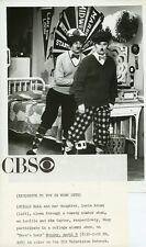 LUCIE ARNAZ LUCILLE BALL AS CHARLIE CHAPLIN HERE'S LUCY ORIG 1971 CBS TV PHOTO