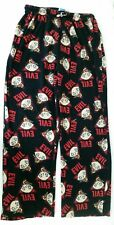 Family Guy Evil Stewie Pajama Pants Lounge Fleece Comfort Drawstring Black C.5