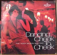 TEDDY WILSON BAR-TRIO DANCING CHEEK TO CHEEK LOVERS COVER GERMAN PRESS LP