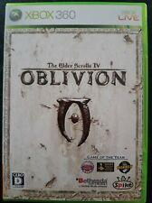 The Elder Scrolls IV Oblivion japonais Xbox 360 Xbox One