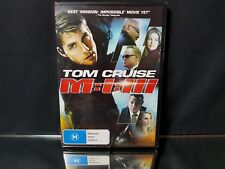 Tom Cruise M.I. III Mission Impossible 3 DVD Video NEW/Sealed