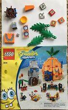 Lego 3818 Spongebob Squarepants PRINTED TILE PARTS Minifigs Lot #4 BIKINI BOTTOM