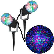 Gemmy LightShow RGB Red Green Blue Projection Kaleidoscope Combo (2 Pack)