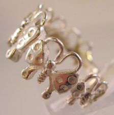 Butterfly Sterling Silver Band Ring Size 7 Vintage Jewelry Jewellery