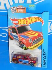 Hot Wheels 2015 HW City Art Cars #27 '67 Austin Mini Van Red w/ PR5s