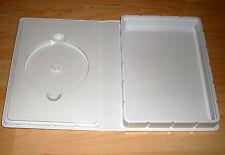 Große CD DVD Hülle Luxuspak Softbox weiss für 1-3 Rohlinge + DINA5 Fach Neu