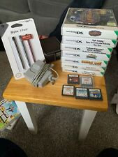 Nintendo DSi XL Bundle (brown)  - With 12 Games, 3 Stylus Pack, Case & Charger
