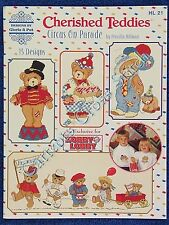 Cross Stitch Pattern Cherished Teddies Circus on Parade