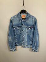 SUPERDRY DENIM Jacket - Size XL - Navy - Great Condition - Men's