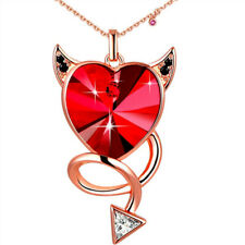 Heart Pendant Necklace Crystals from Swarovski Valentin's Day Gifts for Women
