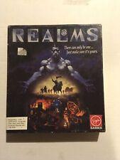 Amiga Realms Virgin Game Untested