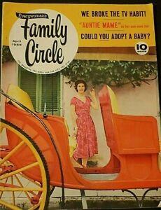 Family Circle - We Broke The TV Habit; Adopting Quiz (Apr 1959)