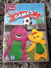 Barney Dvd Let The Games Begin & Stories