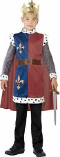 Boys King Arthur Medieval Knight Tunic Fancy Dress Costume Book Day Week Outfit Medium 7 - 9 Years