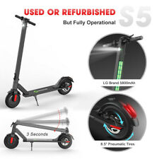 USED S5 Foldable Electric Scooter Urban Commuter E-Scooter for Adult 14MPH 250W