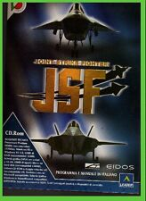 JOINT STRIKE FIGHTER JSF pc cd rom MANUALE ITA simulatore di volo BIG BOX