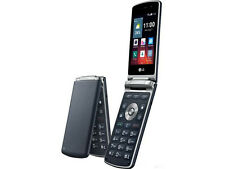 DHL Ship - New Unlocked LG Wine Smart 2 H410 (1G/4G) 4G LTE Flip Phone - Blue
