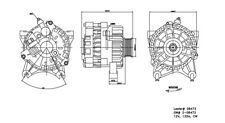 Alternator-Limousine TYC 2-08472