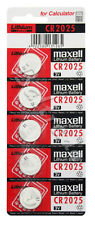 20x MAXELL CR2025 LITHIUM BATTERIEN BATTERY KNOPFZELLE 3V --- OVP --- NEU