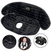 Black Deluxe Infant Baby Car Seat Protector Waterproof Piddle Pad Potty Training