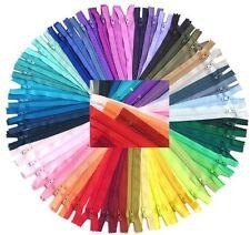 YKK #3 Skirt & Dress Zipper 14 Inch Assortment of Colors (25 Zippers) Zipperstop
