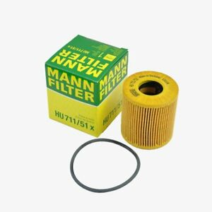 MANN-FILTER Oil Filter HU711/51x fits Mini Mini R56 Cooper Cooper S One