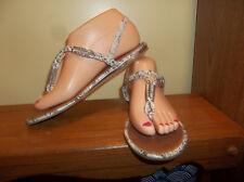 New Womens Bongo Cayo Embellished Slide Sandal Style 10608 Silver 102D lr