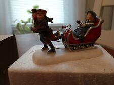 """Dept 56 """"Winter Sleighride""""Heritage Village Collection"""