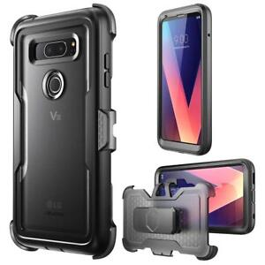 LG V30 Case i-Blason Magma Full Body Shockproof Cover Case with Screen Protector