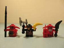 LEGO NEXO KNIGHTS Black & Red Scurrier x3 with weapons