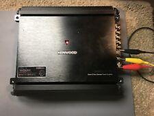 Kenwood eXcelon X801-5 Class D 5 Channel Power Amplifier (Certified Refurbished)