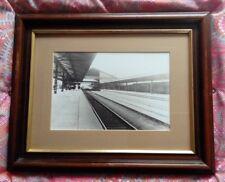 Framed Print of Vintage Photograph of Taunton Railway Station c.1910