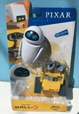 "Disney PIXAR WALL-E & EVE 4"" Robot figure SET MIP"