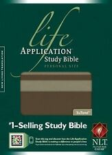 NLT Life Application Study Bible,Personal Size (Taupe/Stone Tutone Leather-like)