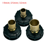 1 PC IBC Water Tank Outlet Fitting Connector Adapter 1//2 3//4 1 Brass Fittings