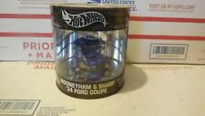 HOT WHEELS OIL CAN MOONEYHAM & SHARP 34 FORD COUPE 1/64 REAL RIDERS  1 OF 15,000
