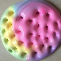 100ML Rainbow Cotton Fairy Cloud Slime Ice cream Mud Stress Relief Kids Toy DIY