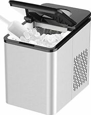 Soopyk Counter top Ice Maker Machine with Self-Cleaning   27 lbs in 24 hrs   9 I