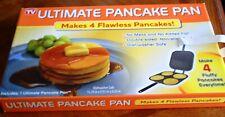 Ultimate Pancake Pan, Makes 4 Flawless Pancakes! As Seen On TV, Brand New