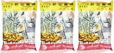 3 BAGS Indonesian Ting Ting Jahe Sina Chewy Ginger Candy Chews Taffy 4.4 oz