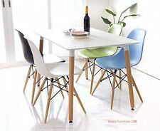 Dining table and 4 chairs retro  DSW Eiffel