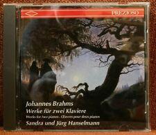 CD Orgel Organ CD Brahms Sonate für zwei Klaviere Haydn Variationen Sandra & Jür