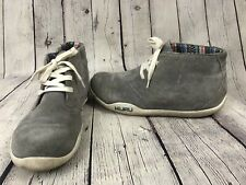 KURU 201017 Lace up Mid Shoe Women US 9.5 Gray Chukka Boot