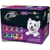 Cesar Canine Cuisine Wet Dog Food, 8 Flavor Variety Pack, (3.5 oz., 40 ct.)!!