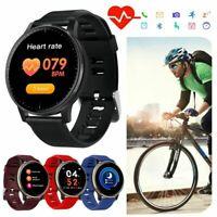 Smartwatch Bluetooth Armbanduhr Pulsmesser Sport Armband für Huawei iOS Nokia LG
