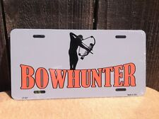 Bowhunter Wholesale Novelty License Plate Bar Wall Decor