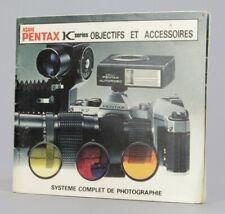 Asahi Pentax K series Objectifs et Accessoires  Photo Argentique (Réf#R-141)