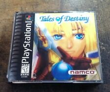 Tales of Destiny (Sony PlayStation 1, 1998) DISK IS NEAR PERFECT ! / VERY RARE !